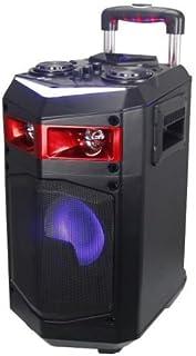 comprar comparacion Altavoz Trolley con Ruedas PORTATIL Altavoces USB Bluetooth Karaoke LED 60W