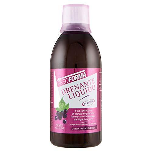 Pesoforma Drenante Liquido Frutti di Bosco- Contrasto cellulite - 500 ml
