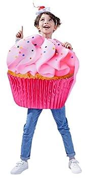 Dress Up America Cupcake Costume for Kids - Sugar Sweet Pink Cupcake Costume  Toddler 4/Small 4-6