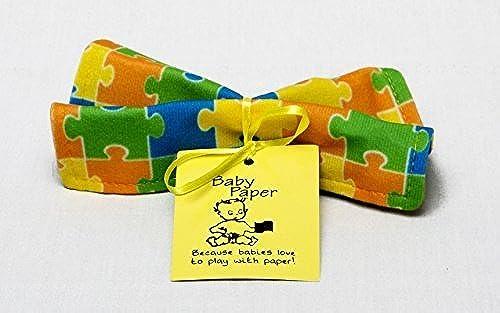venta directa de fábrica Baby Paper - Crinkly Baby Toy - Puzzle by Baby Baby Baby Paper  orden ahora disfrutar de gran descuento