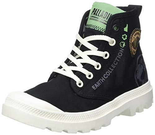 Palladium Unisex Pampa Organic Metro Sneaker, Schwarz, 45 EU