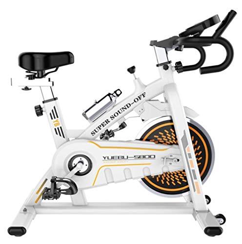 Lcyy-Bike Allenatori di Bicicletta Resistenza Magnetica 11 kg Volano Cardio Workout con Display Multifunzionale E Porta Tablet Manubrio Regolabile E Altezza Sedile