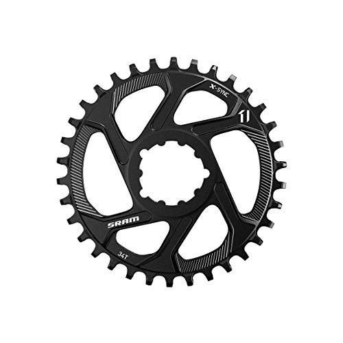 SRAM Plato de 32 Dientes para Mountain Bike Direct Mount, Modelo 11.6218.027.030,de Acero, 11 velocidades, Avance X-Sync de 3 mm, en Color Negro, estándar