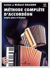 Méthode complète d'accordéon. nstrument : Accordion. Genre : method - studies. Sortiment : Score + CD. 2008