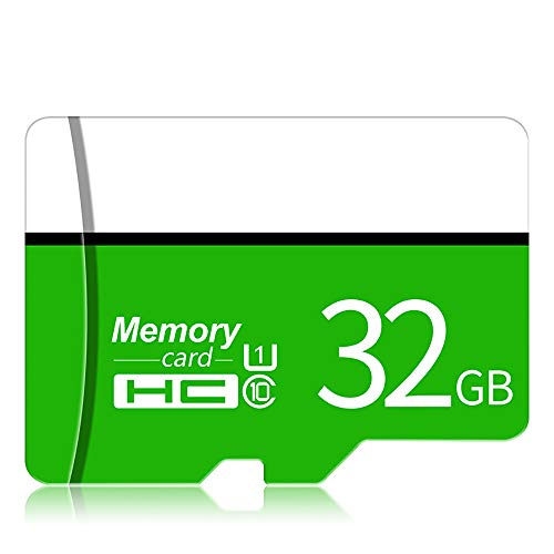 Memory Card, Class 10 Ad Alta velocità Micro SD Flash Card 8GB 16GB 32GB 64GB 128GB Fino A 80 MB/S per Dash Cam/Videocamera/Endoscopio Industriale/Smart Watch/Tablets,64GB