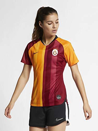 Nike Damen Gs W Nk BRT Stad JSY Ss Hm Unterhemd, Pfefferrot/Pfefferrot, L