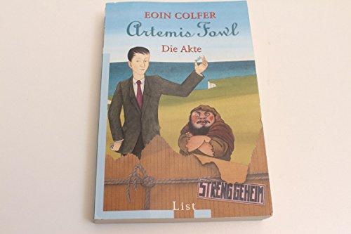 vintage13.de Eoin Colfer Artemis Fowl Die Akte Streng geheim List