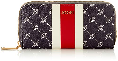 Joop! Damen Cortina Due Melete Purse Lh15z Geldbörse, Blau (Nightblue), 9x1x18.5 cm