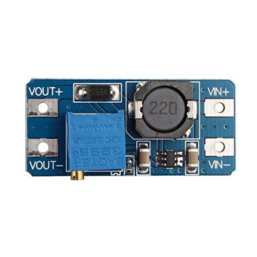 HALJIA DC-DC Booster Module 2A Booster Board Compatible with Arduino Raspberry Pi DIY Etc