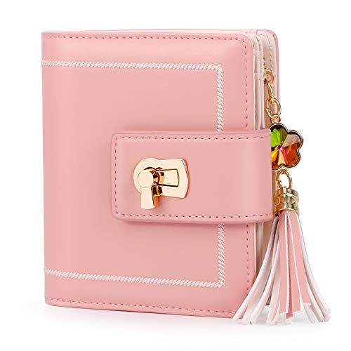 Pomelo Best Damen Geldbeutel Portemonnaie mit RFID Blockierung Rosa
