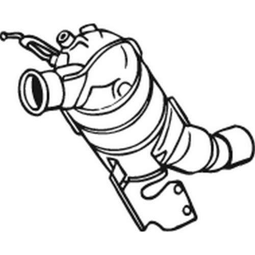 Bosal 095–206 pièces de montage
