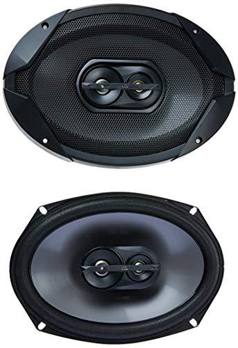 """JBL Gt7-96 Gt7 Series 6""""x9"""" 3-Way Car Speakers, Black"""