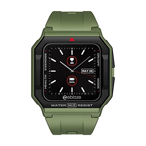 Wristwatch Smart Watch BT5.0 30M Waterproof Fitness Tracker Watch Compatible con Android iOS SmartWatches-Verde
