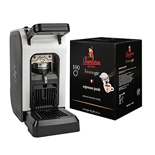 Macchina da Caffè a Cialde'Spinel Ciao' + 100 Cialde Caffè in Box - Caffè Barbera