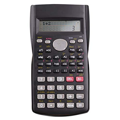 TAKEMORE7 Wissenschaftlicher Taschenrechner, 2-zeiliger Multifunktionaler Taschenrechner Ingenieurrechner Hochschule Hochschule Hochschule Ingenieurwesen Buchhaltung Trigonometrie Büro