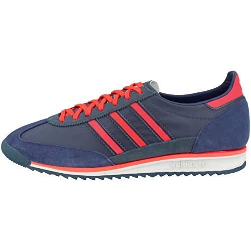 adidas Originals SL 72, Legacy Blue-Solar Red-Tech Indigo, 10,5
