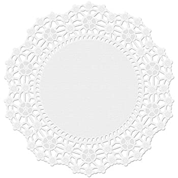 Wilton 30 Count Grease Proof Doilies 4-Inch White