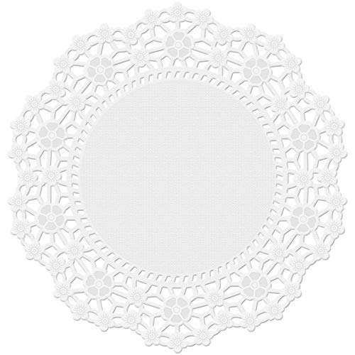Wilton 30 Count Grease Proof Doilies, 4-Inch, White