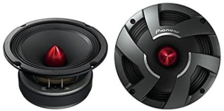 "Pioneer TS-M650PRO 6-3/4"" PRO Series High Efficiency Mid-Range Car Speakers"