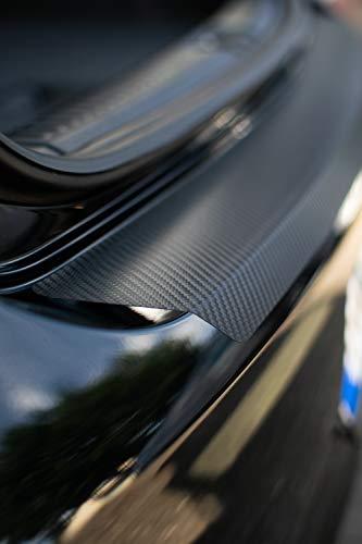 Gruening Design Ladekantenschutz für Golf 7 2012-2019 VII AU Carbon Lackschutz Folie Rakel