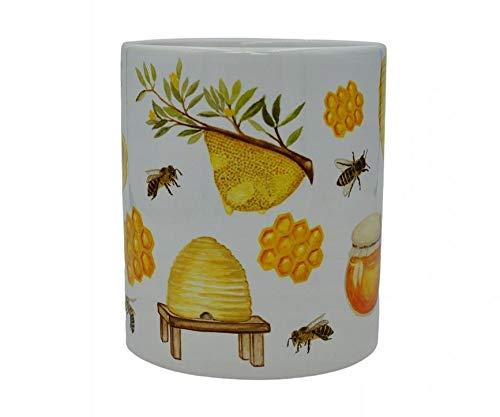 YantaiLtdUK - Taza, diseño de abejas y abejas
