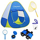 LIOOBO 6pcs Kids Play Tents Pop up Tent Playhouse Exploring Camping Toys Adventure
