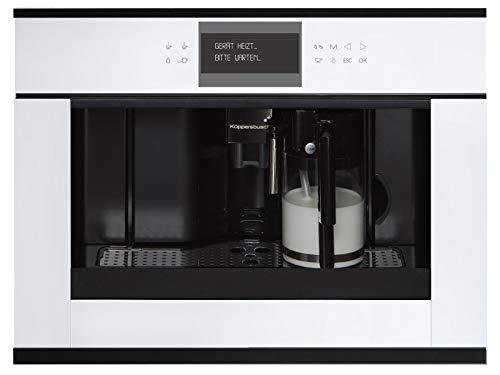 Küppersbusch CKV 6550.0 W5 K-Series. 5 Einbau-Kaffeevollautomat Weiß/BlackVelvet