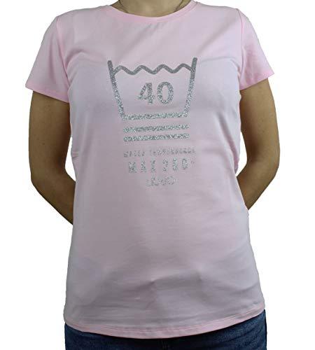 Liu.jo sport - U9886 t-shirt pink lady/st.wash TA0112J5003