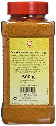 Wichartz Würzkönig Steak Gewürzzubereitung, 3er Pack (3 x 500 g)