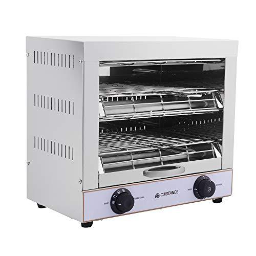 Toaster 2 Etagen, Quarz-Rost, Salamander, professionell