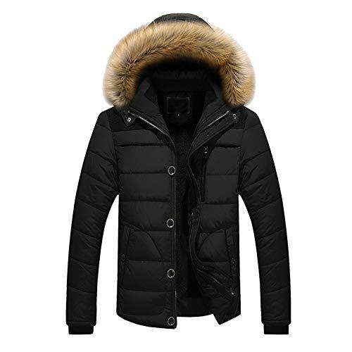Men's Coat Waterproof Ski Jackets Windproof Hooded Mountain Fleece Outwear Winter Cotton Thicken Windbreaker Parka Overcoat