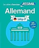 Cahier exercices allemand 3e