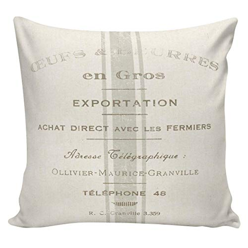 N\A Funda de Almohada Spring Throw Pillow Toss Pillow Vintage Farmhouse...