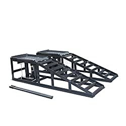 SwitZer Hydraulic Car Ramps