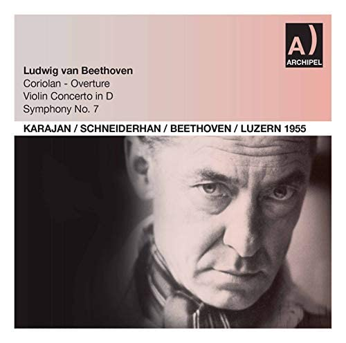Wolfgang Schneiderhan, Luzerner Festspielorchester, Philharmonia Orchestra London & Herbert von Karajan