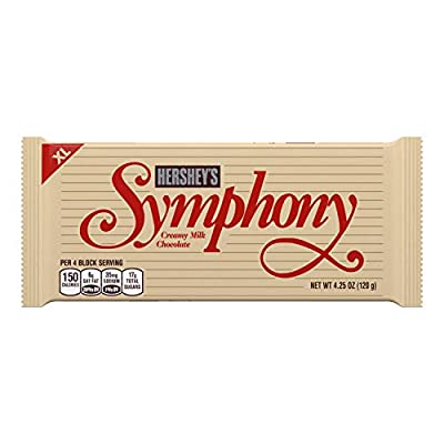 SYMPHONY Extra Large Creamy Milk Chocolate, (4.25-Ounce Bar, Pack of 12)