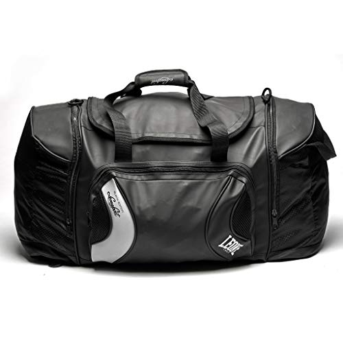 Leone 1947 Black Edition, Unisex Backpack-Bag - Adulto, Negro, Talla Única