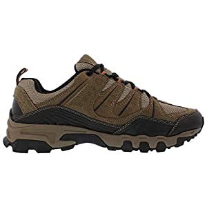 Fila Men's Outdoor Hiking Trail Running Athletic Shoes Brown/Orange (12)