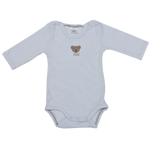 Steiff Collection Steiff Unisex - Baby Body 0008653 (Weitere Farben), Blau (baby blue ), 62