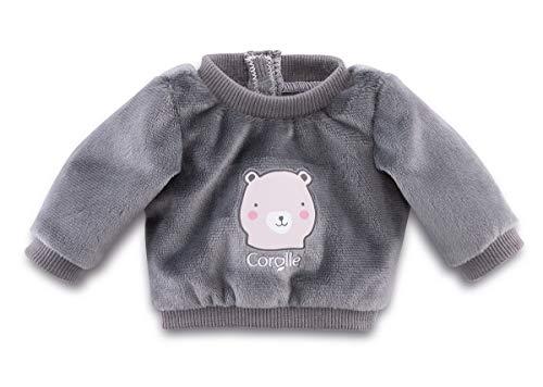 Corolle Mon Premier Poupon 30cm Pullover / Bär / für alle 30cm Babypuppen / Für Kinder ab 18 Monaten geeignet