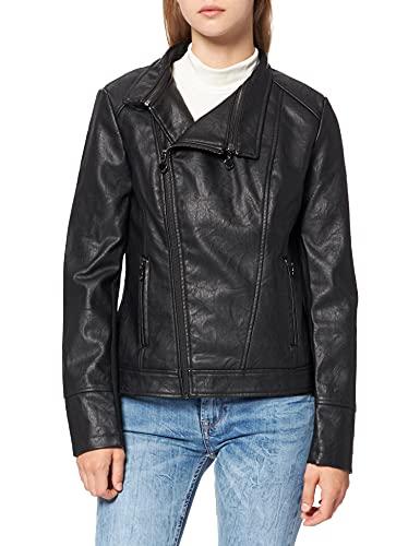 Desigual Coat Dante Abrigo, Negro (Negro 2000), 42 para Mujer