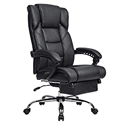 Extra Tall Office Chair Recliner With Footrest