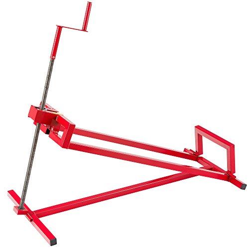 Arebos Rasentraktorheber | 400 kg | 45° Neigungswinkel | stufenlos verstellbar | Hebevorrichtung | Hebebühne | Aufsitzmäher | Reinigungshilfe