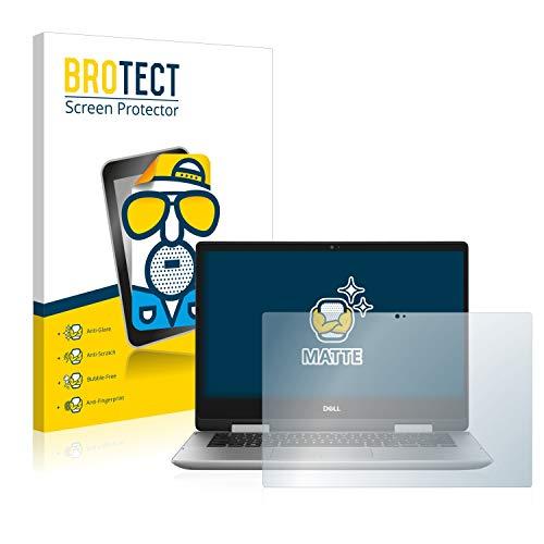 BROTECT Entspiegelungs-Schutzfolie kompatibel mit Dell Inspiron 14 5491 2-in-1 Bildschirmschutz-Folie Matt, Anti-Reflex, Anti-Fingerprint