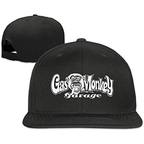 BallainB Man/Women Cool Gas Monkey Garage Fitted Hat Black...