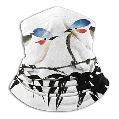 Desing shop Bufanda tubular de tinta coloreada para hombres y mujeres mascarilla turbante pasamontañas gorros multifuncionales calidez para el cuello