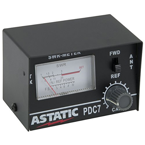 Astatic (302-01768) PDC7 Compact SWR Meter