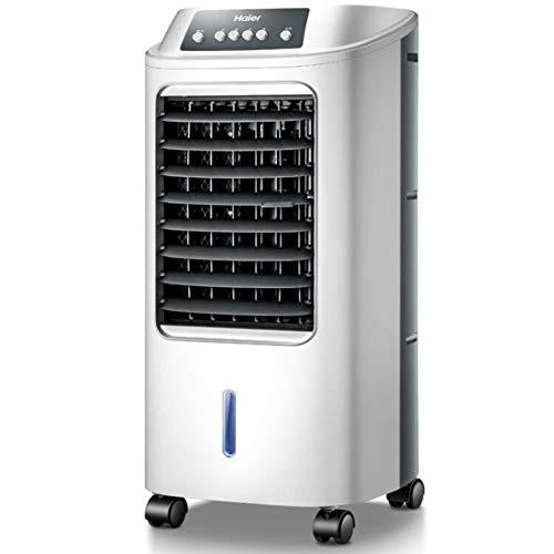 DULPLAY Personal Aire Acondicionado, Silencioso Ajustable Enfriador De Aire Purificar Humidificador Enfriador Evaporativo para Oficina Dorm -mecánico 30.5x30x73cm(12x12x29inch)