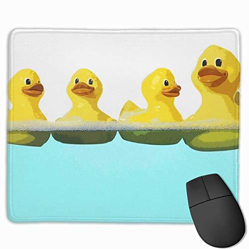 Gummi-Cartoon-Enten-Mauspad, rutschfeste Mausmatte für Desktops, Computer, PC und Laptops, kundenspezifisches Mauspad