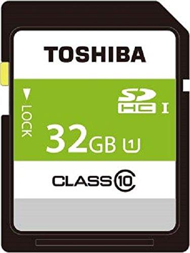 TOSHIBA SDHCカード 32GB Class10 UHS-I対応 (最大転送速度40MB/s) SDAR40N32G